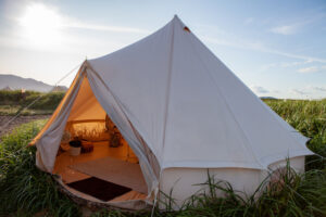 Luxury Glamping Canvas Tent