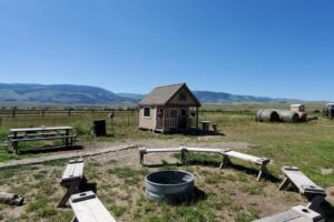 Gnome Home at Camp Chicory, Montana