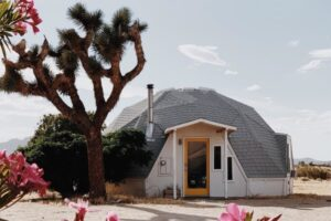 Dome in the Desert glamping experience at Joshua Tree