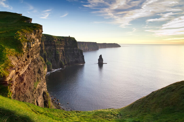 Stunning Irish landscape at the Cliffs of Moher