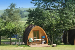 The Quiet Site glamping pod
