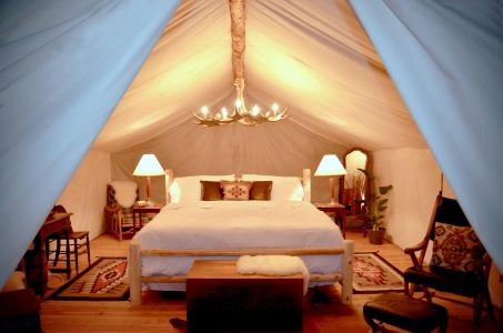 Glamping at the Collective, Yellowstone