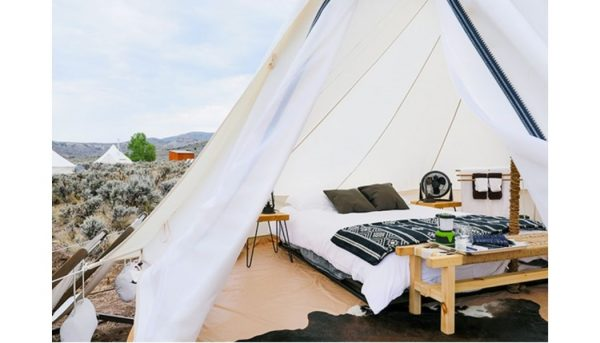 Luxury glamping at The Collective, Vail